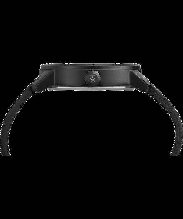 Mod44 44mm Leather Strap Watch Black large