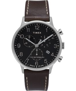 Waterbury-40mm-Classic-Chrono-with-Leather-Strap-Watch Stainless-Steel/Brown/Black large