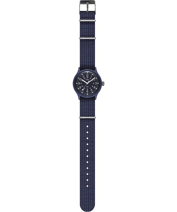 MK1 36mm Fabric Strap Watch Blue large