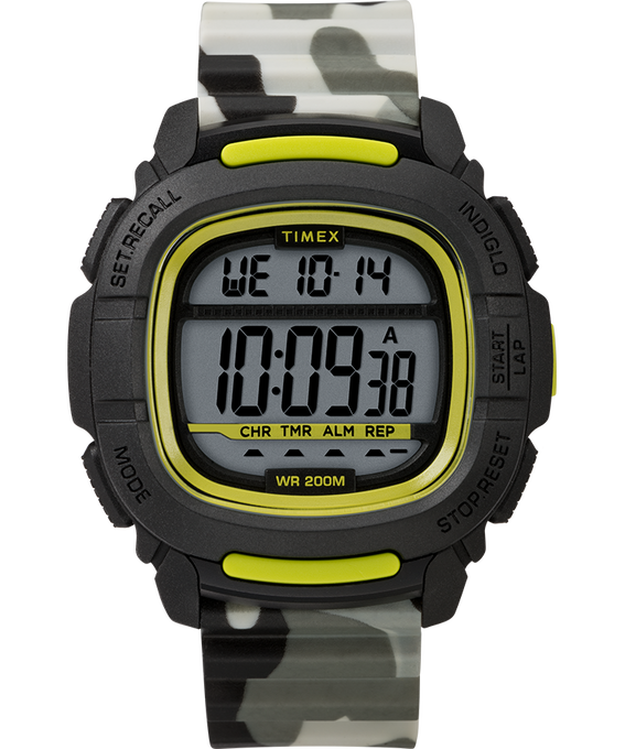 Boost 47mm Silicone Strap Watch Black/Camo large