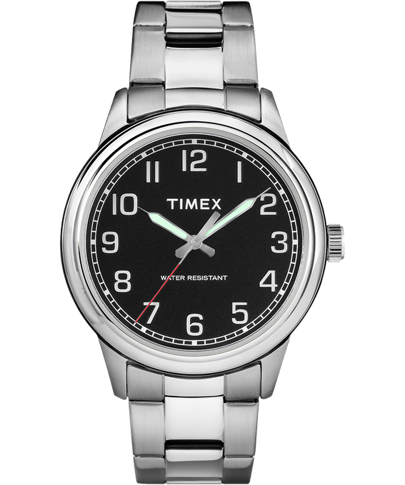 New England 40mm Stainless Steel Watch  large