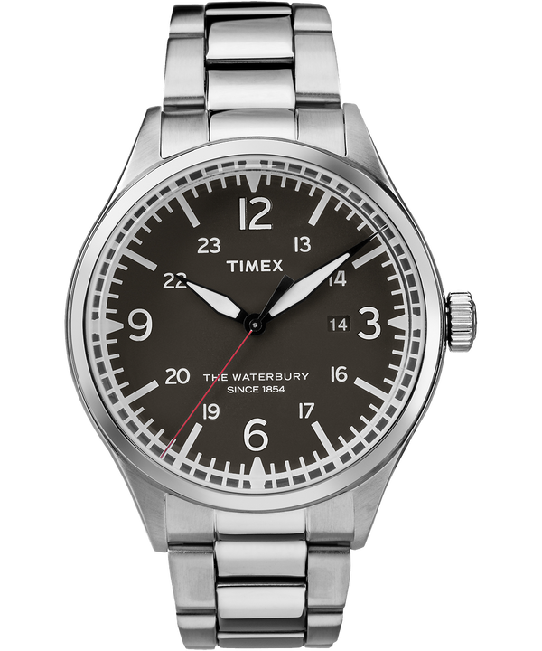 Waterbury Traditional 40mm Stainless Steel Watch  large