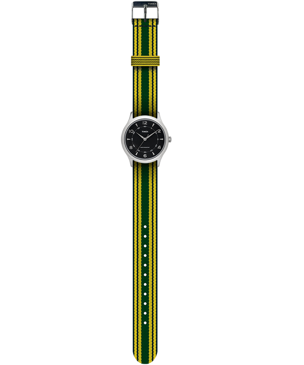 Whitney Village 36mm Grosgrain Strap Watch  large