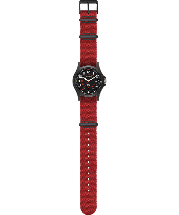 Acadia 40mm Fabric Strap Watch