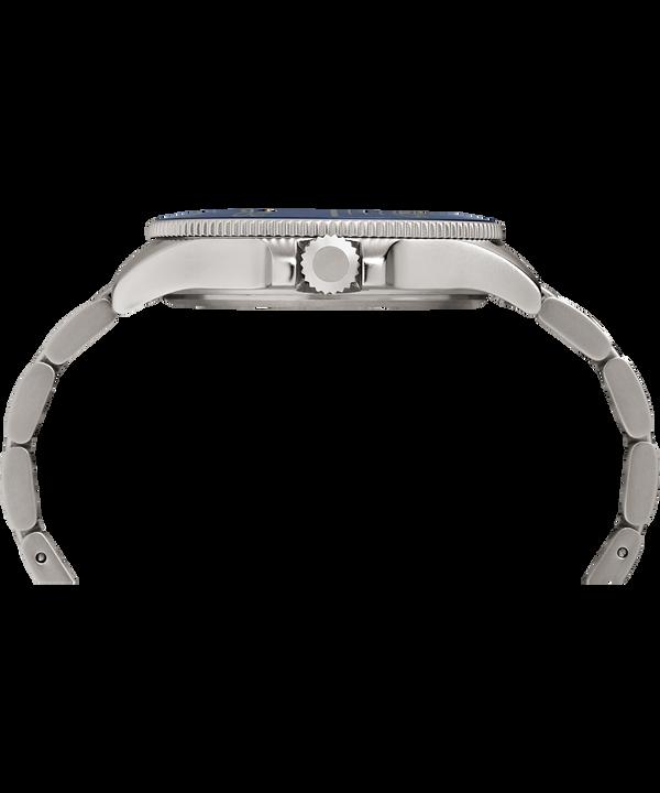 Allied Coastline 43mm Bracelet Watch Silver-Tone/Blue large