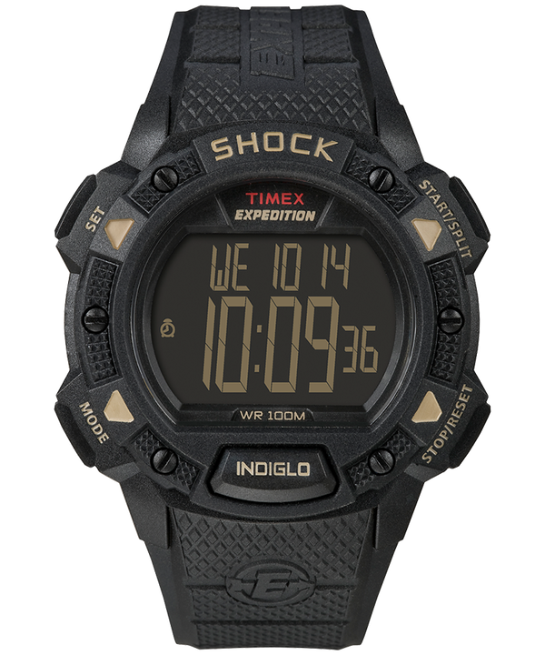 Expedition® Shock CAT Black/Tan large