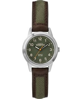 Expedition Field Mini 26mm Chrome/Brown/Green large