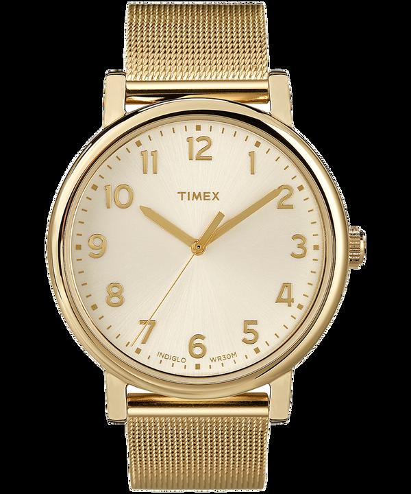 Originals 38mm Mesh Bracelet Watch Gold-Tone/Champagne (large)