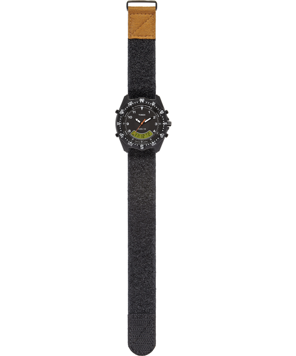NSN-1K 39mm Velcro Fabric Strap Watch  large
