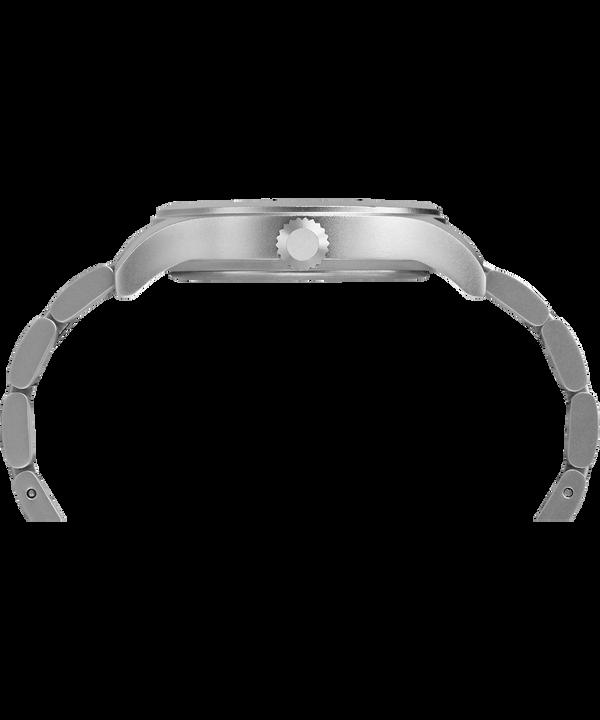 Allied 40mm Bracelet Watch Silver-Tone/Black large