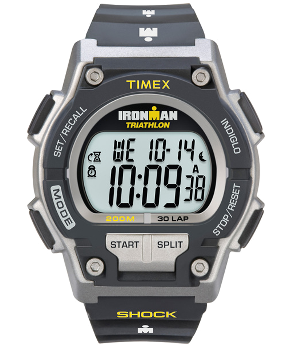 ironman original 30 shock full size 42mm resin strap watch timex rh timex co uk timex ironman triathlon gps watch manual timex ironman triathlon watch instructions