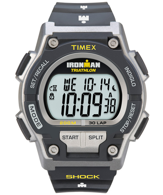 IRONMAN Original 30 Shock Full-Size 42mm Resin Strap Watch  large
