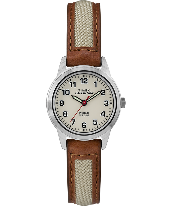 Expedition Field Mini 26mm Chrome/Tan/Natural large