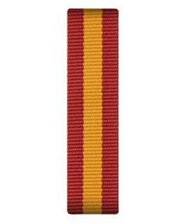 Red/Yellow Nylon Slip-thru Strap  large
