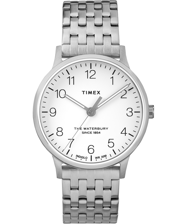 Waterbury 36mm Classic Stainless Steel  Strap Watch  large