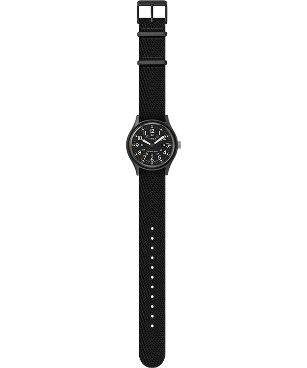 MK1 40mm Fabric Style Watch Black/Black large
