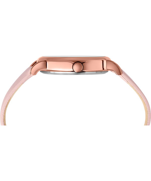 Weekender 38mm 2-Piece Quick-Release Leather Strap Watch Rose-Gold-Tone/Pink/Cream large