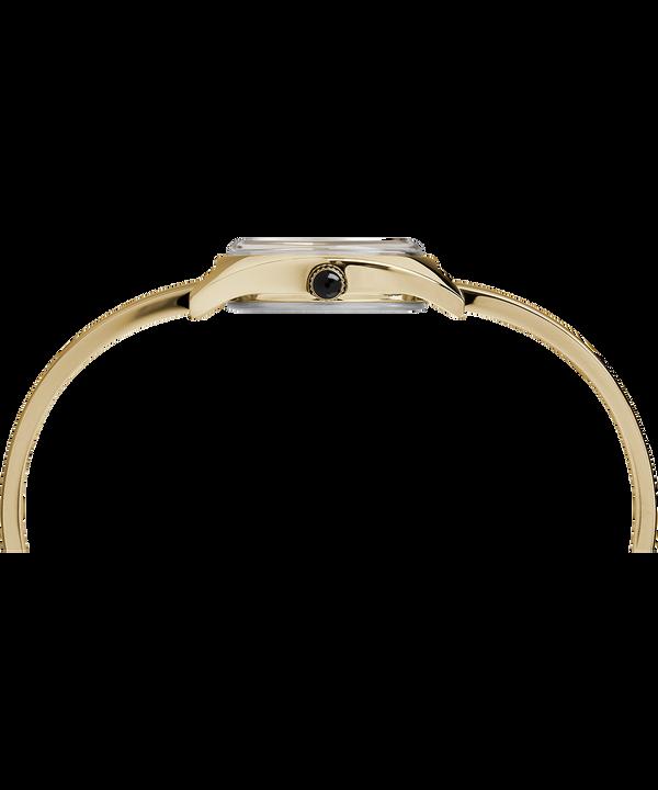 Milano Semi-Bangle 24mm Watch Gold-Tone/White large