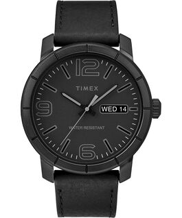 Mod44 44mm Leather Watch Black large