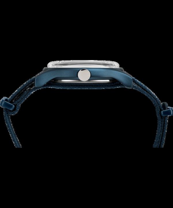 MK1 Aluminum 40mm Fabric Watch Blue large