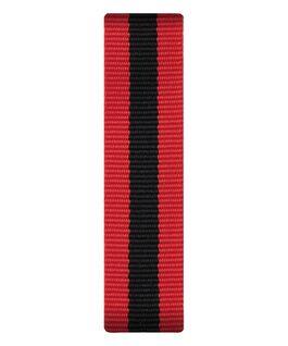 Red/Black Nylon Slip-thru Strap  large