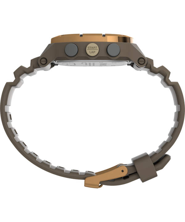 Command™ LT 40mm Silicone Strap Watch Brown large