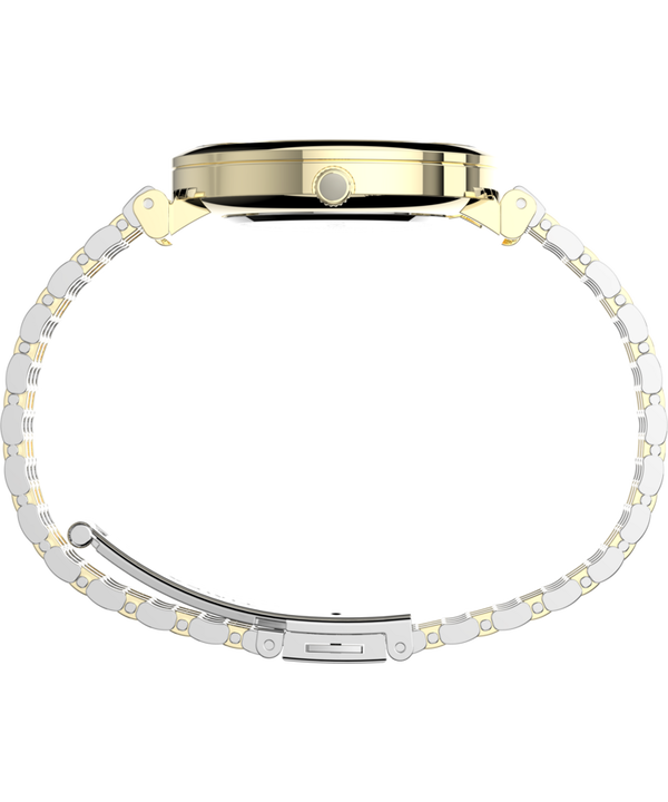 Parisienne 35mm Stainless Steel Bracelet Watch Two-Tone/Mother-of-Pearl large