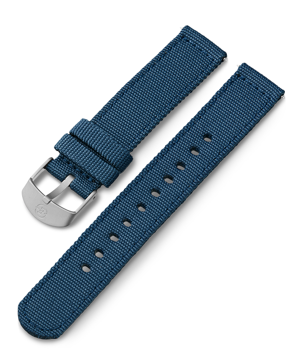 18mm Fabric Strap Blue large