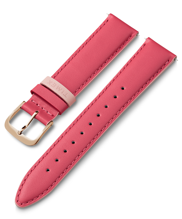 20mm Leather Strap Pink large