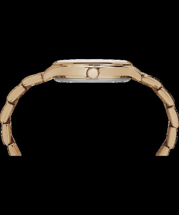 Crystal Bloom With Swarovski® Crystals 36mm Bracelet Watch Rose-Gold-Tone/White large