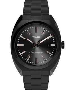 Milano XL 38mm Stainless Steel Bracelet Watch Black large