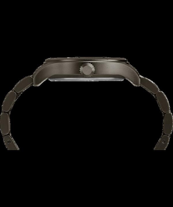 Allied 40mm Bracelet Watch Silver-Tone/Gray/Black large