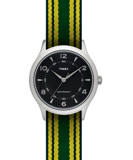 Whitney Village 36mm Grosgrain Strap Watch  large