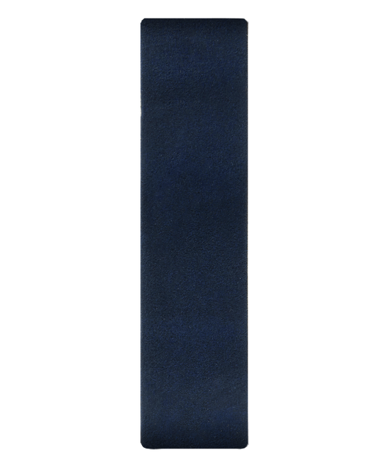 Blue Leather Slip-thru Strap  large