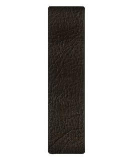 Dark Brown Leather Slip-thru Strap  large