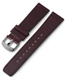 22mm Quick Release Leather Strap 1 Brown large