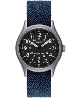 MK1 40mm Fabric Strap Watch Blue large