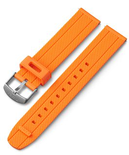 20mm Quick Release Silicone Strap Orange large