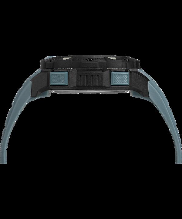 Expedition Base Shock 45mm Resin Strap Watch Black/Blue large