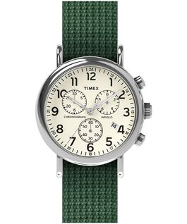 Weekender Chronograph 40mm Fabric Strap Watch  large