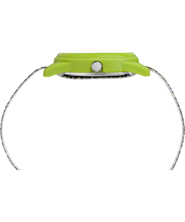 Kids Analog Green Space Dye Nylon Watch  large