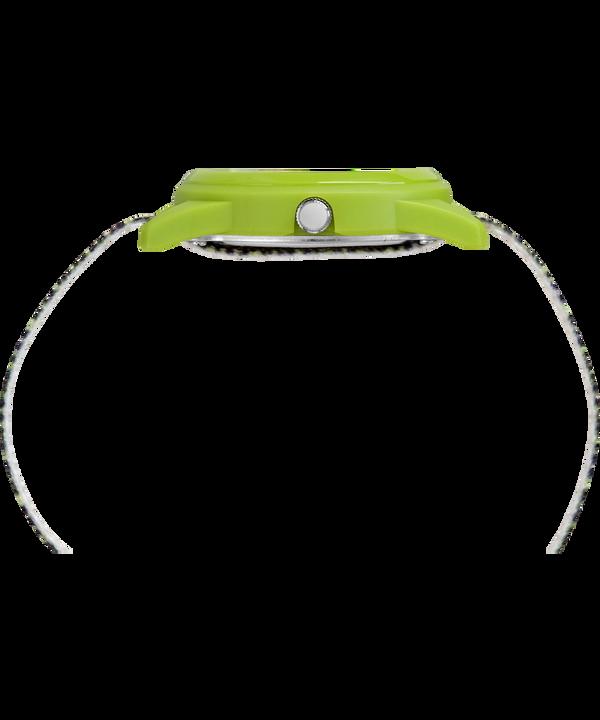 Kids Analog 32mm Nylon Strap Watch Green/Black large