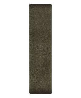 Olive Leather Slip-thru Strap  large