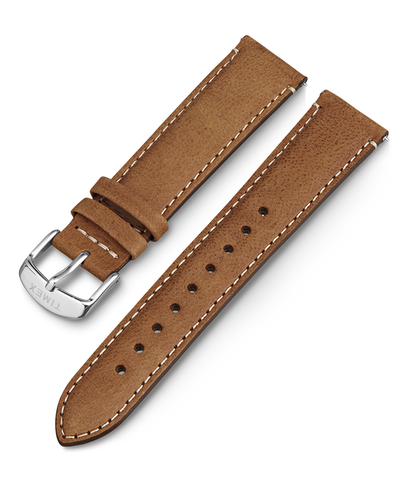 20mm iQ Light Brown Leather Strap  large