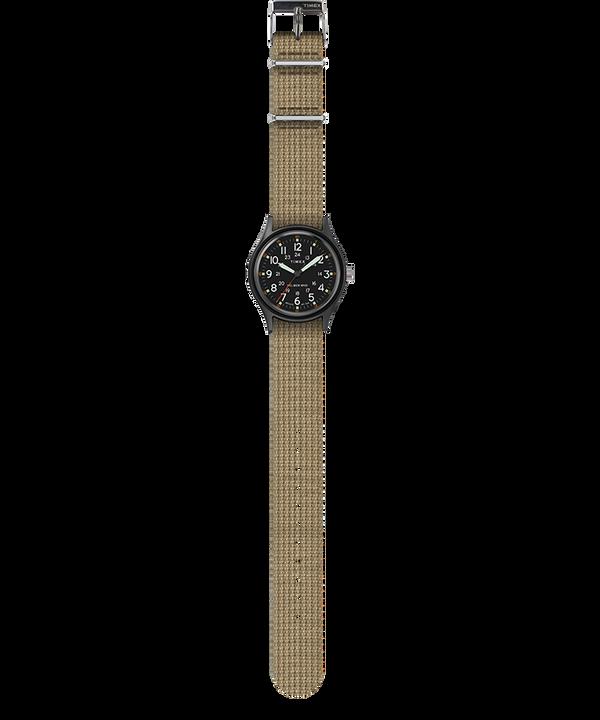 MK1 40mm Fabric Strap Watch Black/Olive large