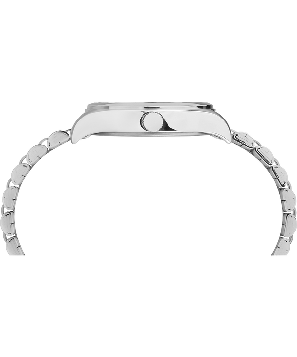 Waterbury Traditional 34mm Stainless Steel Bracelet Watch Stainless-Steel/White large