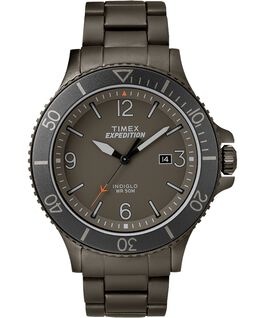 Expedition Ranger 43mm Stainless Steel Watch Gunmetal/Gray/IP-Gun large
