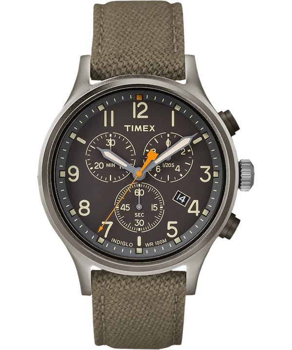 Allied Chronograph 42mm Fabric Strap Watch  large