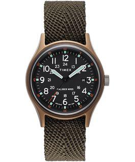 MK1 40mm Fabric Strap Watch Green large