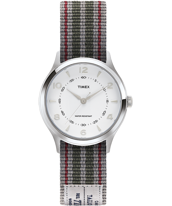 Whitney Village 36mm Reversible Grosgrain Strap Watch-1  large